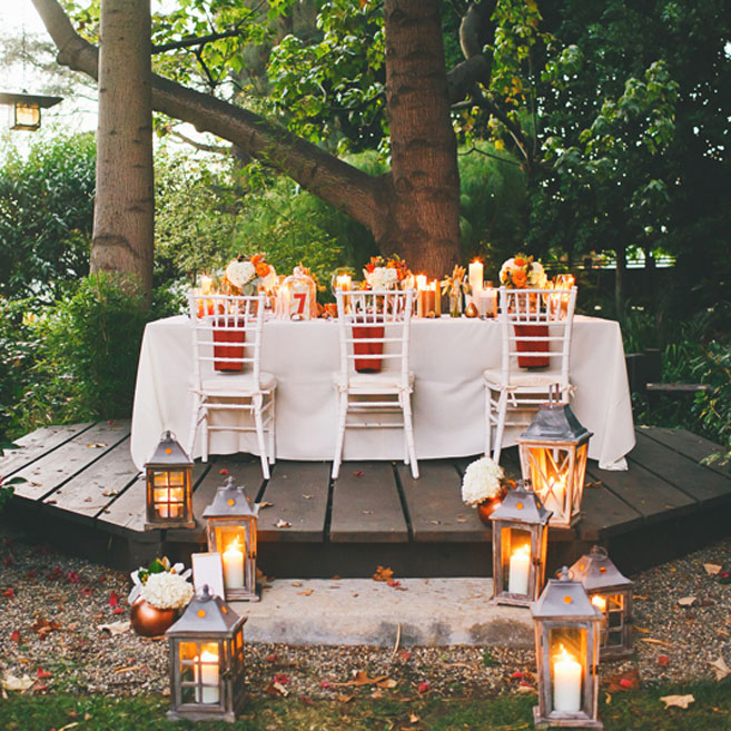 Outdoor Fall Wedding Ideas: Role Player Of The Year
