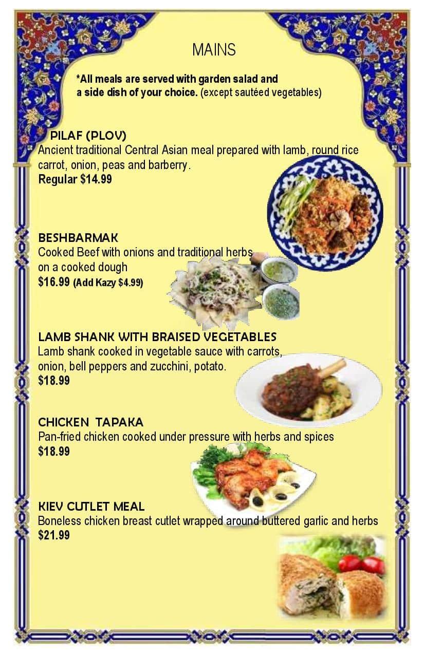 Final menu 1-6