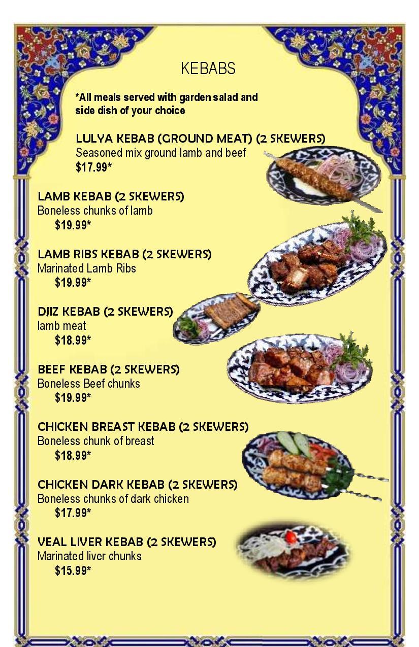 Final menu 1-8